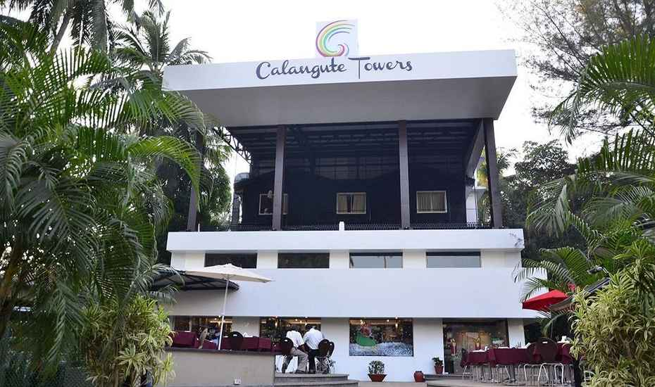 Hotel Calangute Towers | Goa 403516 Online Room Booking  in Goa