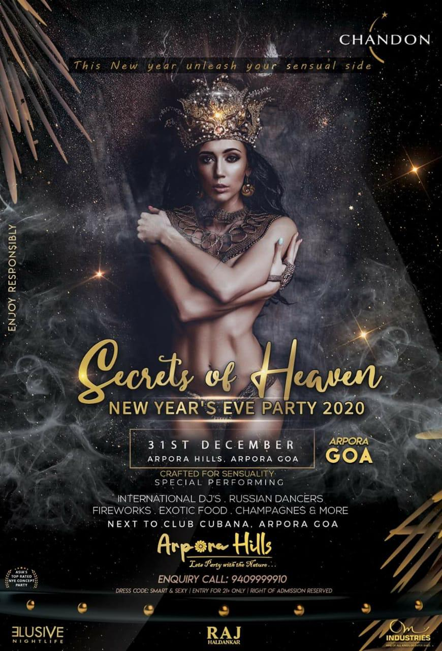 GOA NEW YEAR'S EVE PARTY 2020