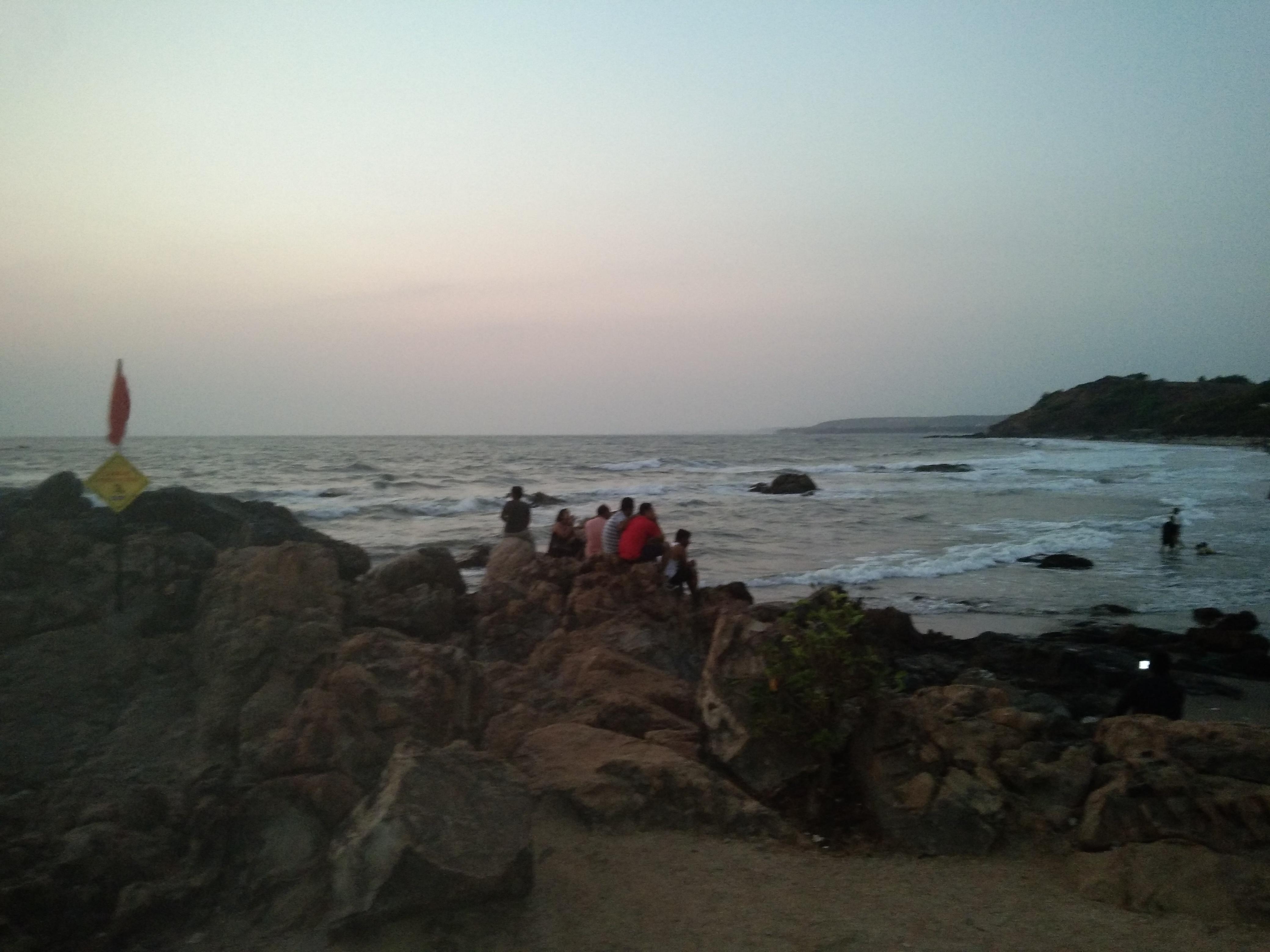 Best sunset spot in Goa