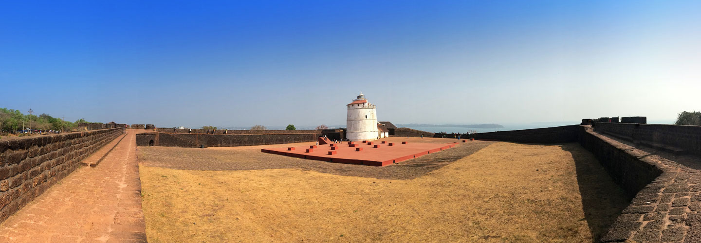 Portuguese forts in Goa India, Fort Aguada