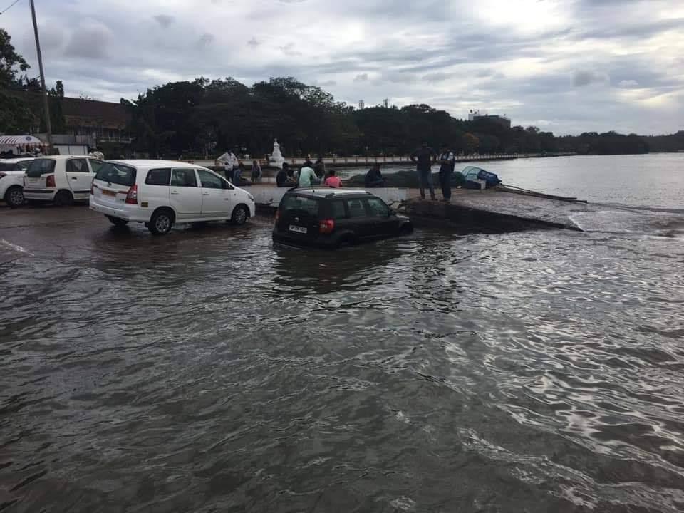 Goa heavy rainfall with high-speed winds  Goa coast in next 24 hours